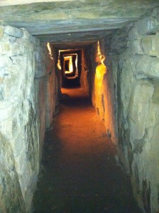 Underground passage, Knowth Ireland